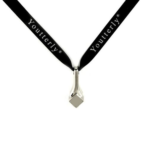 Youtterly store – silver 14k and 18k white gold pendant