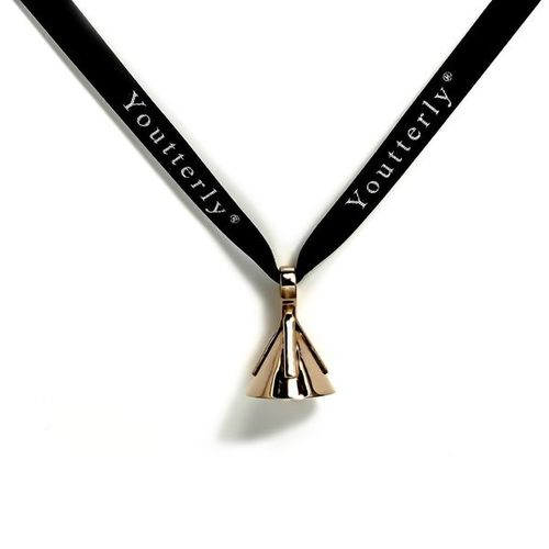 Youtterly store - 14k and 18k pink gold pendant